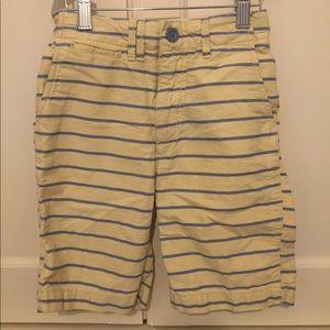 Gap striped oxford cotton shorts